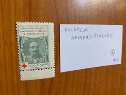 Vignette - Croix Rouge Armand Pinsard ( Aviateur) - Rode Kruis