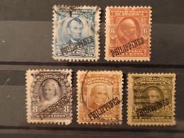 PHILIPPINES - 1903 Occupation Américaine - 5 Valeurs Dont N° 231 * - 232 (*) 235 O (voir Scan) - Filippine