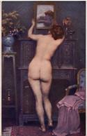 Le Miroir Par H. LAISSEMENT - Salons De Paris - NU EROTISME - - Unclassified