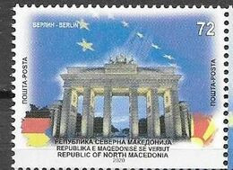 NORTH MACEDONIA , 2020, MNH,BERLIN, 1v - Geographie