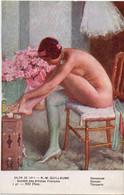 Danseuse Par Mlle R.-M. GUILLAUME - Salons De Paris - NU EROTISME - - Unclassified