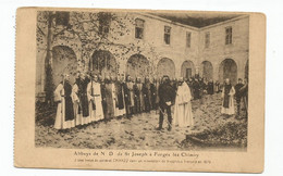 Forges Lez Chimay Abbaye Notre Dame De St Joseph Une Revue Du Général Chanzy - Chimay