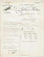 Lettre 1928 - R. LEFEBVRE - WATINE - 18 Rue Du Bus - Tourcoing - Filature De Laines - Voir Scan - 1900 – 1949