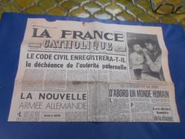 La France Catholique  29 Fevrier 1952 - Desde 1950