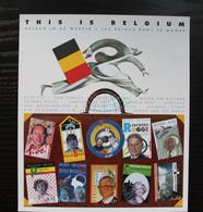 Jaar 2004: BL108 'This Is Belgium: Belgen In De Wereld' - Ongetand Met Nummer - Zeer Mooi! - Imperforates