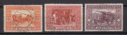 Österreich - Bosnien - 1910 - Michel Nr. 55/57 - Gestempelt - Gebruikt