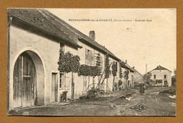 """BOURGUIGNON-LES-LA-CHARITE  (70) : """" GRANDE RUE """" - Andere Gemeenten"""