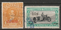 Guatemala 1940-48 Sc E1-2  Special Delivery Used - Guatemala