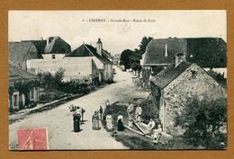 "CINTREY  (70) : "" GRANDE RUE - ROUTE DE PARIS "" - Andere Gemeenten"
