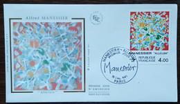 FDC 1981 - YT N°2169 - MANESSIER / ALLELUIA - PARIS - 1980-1989