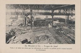 54) Forges De Joeuf - De Wendel & Cie - Train à Fil Brisé Par Les Allemands (BP) - Briey