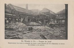 54) Forges De Joeuf - De Wendel & Cie - Emplacement Des Tours à Réchauffer Du Train (BP) - Briey