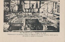 54) Forges De Joeuf - De Wendel & Cie - Emplacement Des Machines à Vapeur De 12000 Chevaux (BP) - Briey