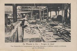 54) Forges De Joeuf - De Wendel & Cie - Emplacement Des Trains Blooming (BP) - Briey