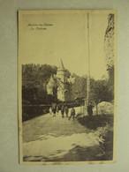 39254 - MARCHE-LES-DAMES - LE CHATEAU - ANIMEE !!! - ZIE 2 FOTO'S - Namur