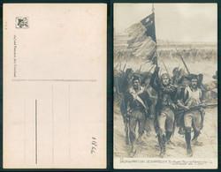 [ OT 01866 ]  - MILITARIA SALON PARIS 1910  DESVARREUX EN AVANT POUR LA PATRIE - PATRIOTIC - Pintura & Cuadros