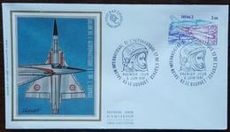 FDC 1981 - YT Aérien N°54 - SALON INTERNATIONAL DE L'AERONAUTIQUE ET DE L'ESPACE - LE BOURGET - 1980-1989