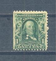 1907 Presidents  MLH - Unused Stamps