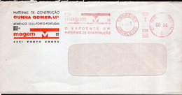 Portugal - 2001 - Letter - Mechanical Postmark - Cuhha Gomes Lda - Air Mail - A1RR2 - Covers & Documents