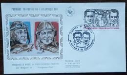 FDC 1981 - YT Aérien N°55 - COSTES ET LE BRIX - BADEN & SEPTFONDS - 1980-1989