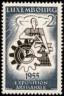 Luxembourg, Luxemburg 1955 Exposition Artisanale 2F. Neuf MNH**val.catalogue:1,80€ - Nuevos