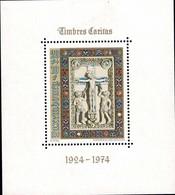 Luxembourg, Luxemburg 1974 Crucification Bloc Neuf MNH** Val.catalogue:4,50€ - Blocks & Sheetlets & Panes