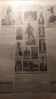 DOMENICA DEL CORRIERE 1923 REVO' ORSENIGO OLEVANO ROMANO SALE ESIO MAGNAGO NETTUNO ANCONA BRESCIA - Sin Clasificación