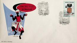 1959 India Portuguesa Dia Do Selo / Portuguese India Stamp Day - Tag Der Briefmarke