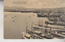 Grèce Greece Vue Du Port De Piree Bateaux à Quai  1916 - Grecia