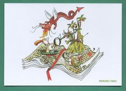Premières Pages ( Livre, Ile, Dragon, Girafe, Sirène ) - Unclassified