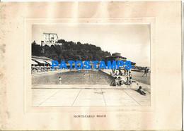 152904 ARGENTINA - FRANCE TRAVEL THE MISSION MONTE CARLO BEACH RESTAURANT YEAR 1930 MENU NO POSTAL POSTCARD - Menú
