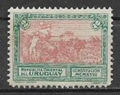 URUGUAY 1918 NUOVA COSTITUZIONE YVERT. 214 MLH VF - Uruguay