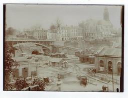 Photographie Ancienne - Photo - Rouen - Travaux - Gare SNCF - Rive Droite - Juillet 1913 - Plaatsen