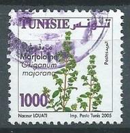 Tunisie YT N°1557 Marjolaine Oblitéré ° - Tunisia (1956-...)