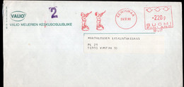 Finland - 1988 - Lettre - Cachet Spécial - Affranchissement Mécanique - Valio - A1RR2 - Cartas