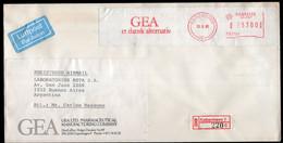 Danmark - 1988 - Lettre - Cachet Spécial - Affranchissement Mécanique - GEA Et Dansk Alternativ - A1RR2 - Cartas