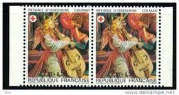 N° 2392 A Paire, Année 1985 Issu Du Carnet Croix Rouge, Faciale 2x(2,20+0,50)F - Ongebruikt