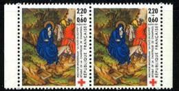 N° 2498 A Paire, Année 1987 Issu Du Carnet Croix Rouge, Faciale 2x(2,20+0,60)F - Ongebruikt