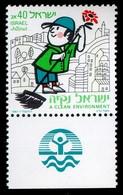 1987Israel1067 Clean Environment1,20 € - Neufs (avec Tabs)