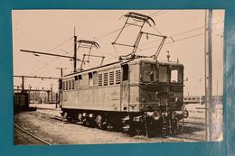 Locomotive Midi E 4509 - Photo Gare Bordeaux Saint Louis - France Aquitaine Gironde 33 Train électrique Médoc PO SNCF - Trains
