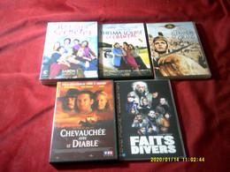 REF 39  °°° LOT DE 5 DVD  POUR 10 EUROS °° POSSIBILITES  DE CHOISIR D'AUTRE TITRE DANS NOS AUTRE LOT - Collections & Sets