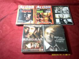 REF 120  °°° LOT DE 5 DVD  POUR 10 EUROS °° POSSIBILITES  DE CHOISIR D'AUTRE TITRE DANS NOS AUTRE LOT - Collections & Sets