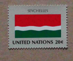 Ny82-01 : Nations-Unies (N-Y) / Drapeau Des Etats Membres De L'ONU - Seychelles - Neufs