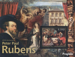 Uganda Block383 (kompl.Ausg.) Postfrisch 2012 Peter Paul Rubens - Uganda (1962-...)