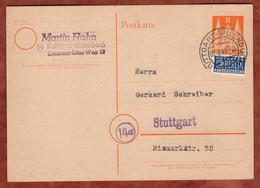 P 1 Bauten + Notopfer, Stuttgarter Kammerchor, Stuttgart-Sillenbuch 1949 (3525) - American/British Zone