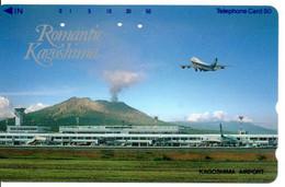 Volcan Volcano Cratère Montagne Mountain Télécarte Phonecard Japon (T 72) - Montagne