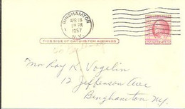 STATIONARY  1957  BINGHAMTON - 1941-60