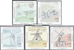 BRD 1948-1952 (kompl.Ausg.) Ersttagsblatt 1997 Wohlfahrt: Wasser- Und Windmühlen I - FDC: Feuilles