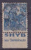 BANDE PUB  OBLITEREE 50 C  JEANNE D'ARC  TYPE II SHYB SES DENTIFRICES - Advertising
