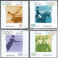 FRD (FR.Germany) 1861-1864 (complete Issue) Ersttagsblatt 1996 Sports Aid - FDC: Feuilles